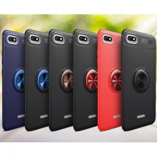 قاب ژله ای طرح چرم انگشتی Magnet Ring Case Xiaomi Redmi 6A