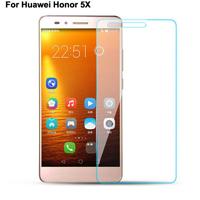 محافظ LCD شیشه ای Glass Screen Protector.Guard for Huawei Honor 5x