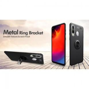 قاب ژله ای طرح چرم انگشتی Magnet Ring Case Samsung Galaxy A8s