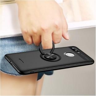 قاب ژله ای طرح چرم انگشتی Magnet Ring Case Xiaomi Redmi 6