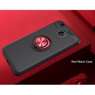 قاب ژله ای طرح چرم انگشتی Magnet Ring Case Xiaomi Redmi 4X