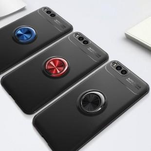 قاب ژله ای طرح چرم انگشتی Magnet Ring Case Xiaomi Mi Note 3