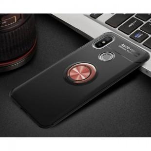 قاب ژله ای طرح چرم انگشتی Magnet Ring Case Xiaomi Mi 8SE
