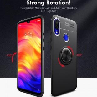 قاب ژله ای طرح چرم انگشتی Magnet Ring Case Xiaomi Mi play