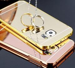 قاب محکم آینه ای Mirror Glass Case for Samsung Galaxy S6 Edge Plus
