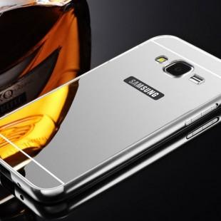 قاب محکم آینه ای Mirror Glass Case for Samsung Galaxy A8