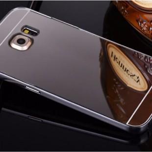 قاب محکم آینه ای Mirror Glass Case for Samsung Galaxy S6 Edge