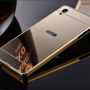قاب محکم آینه ای Mirror Glass Case for Sony Xperia Z4