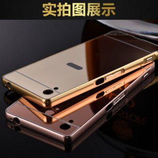 قاب محکم آینه ای Mirror Glass Case for Sony Xperia M4
