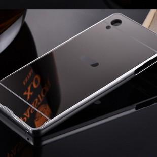 قاب محکم آینه ای Mirror Glass Case for Sony Xperia M4