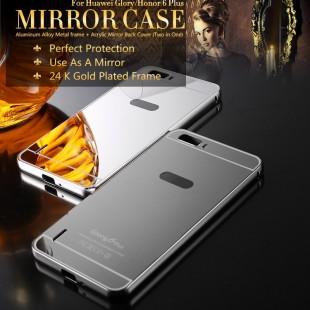 قاب محکم آینه ای Mirror Glass Case for Huawei Honor 6