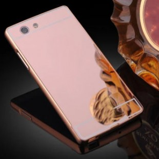 قاب محکم آینه ای Mirror Glass Case for Sony Xperia M5