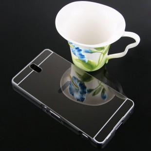 قاب محکم آینه ای Mirror Glass Case for Sony Xperia C5