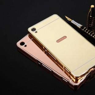 قاب محکم آینه ای Mirror Glass Case for Sony Xperia XA