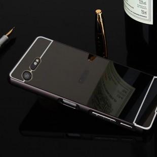 قاب محکم آینه ای Mirror Glass Case for Sony Xperia X Compact