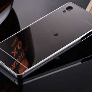 قاب محکم آینه ای Mirror Glass CaseSony Xperia C4