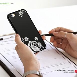قاب طلقی Shengo Black Diamond Case Apple iPhone 6