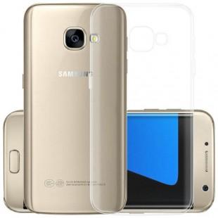قاب ژله ای شفاف Slim Soft CaseSamsung Galaxy A7 2017