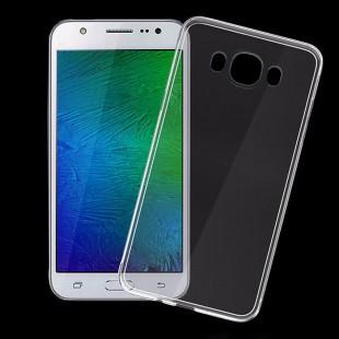 قاب ژله ای شفاف Slim Soft CaseSamsung Galaxy J7