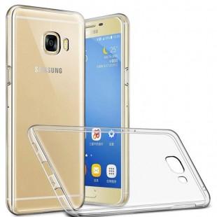 قاب ژله ای شفاف Slim Soft Case Samsung Galaxy C5 Pro
