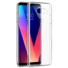 قاب ژله ای شفاف Slim Soft Case LG V30