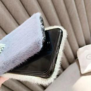قاب خزدار قلب برجسته آیفون Woolly Little Heart Case iPhone 7 Plus