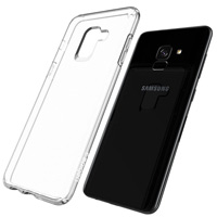 قاب ژله ای شفاف Slim Soft Case Samsung Galaxy A8 2018
