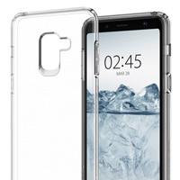 قاب ژله ای شفاف Slim Soft Case Samsung Galaxy A8 Plus 2018
