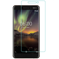 محافظ LCD شیشه ای Glass Screen Protector.Guard Nokia Nokia 6 2018