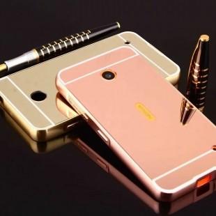 قاب محکم آینه ای Mirror Glass Case Nokia Lumia 635