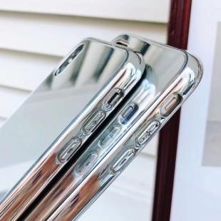 قاب ژله ای پشت آینه ای Mirror TPU Case For iPhone Xr