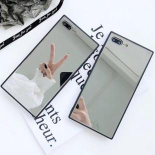 قاب آینه ای مستطیلی Rectangle Mirror Case Apple iPhone 7