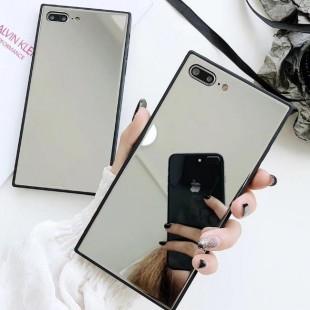 قاب آینه ای مستطیلی Rectangle Mirror Case Apple iPhone Xr