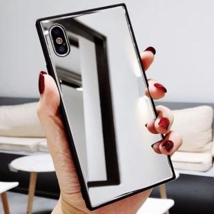 قاب آینه ای مستطیلی آیفون Rectangle Mirror Case iPhone Xs Max