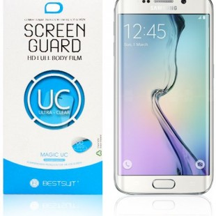 محافظ LCD ژله ای BestSuit Screen Protector.Guard Samsung Galaxy S6 Edge