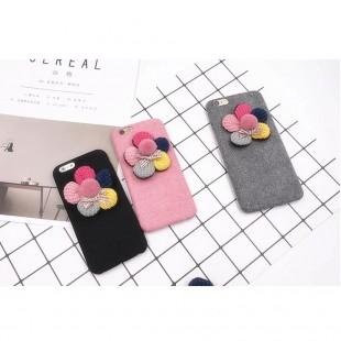 قاب ژله ایکاغذی Flower 3D Flower 5 Colors CaseApple iPhone 6