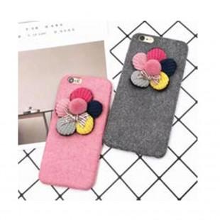 قاب ژله ایکاغذی Flower 3D Flower 5 Colors CaseApple iPhone 6 Plus