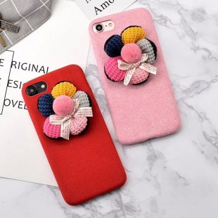 قاب ژله ایکاغذی Flower 3D Flower 5 Colors CaseApple iPhone 7 Plus