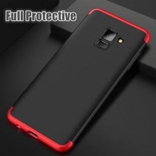قاب محکم Color 360 Case Samsung Galaxy A8 Plus 2018