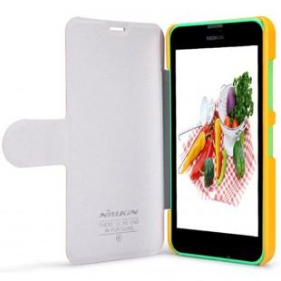 کاور چرم Nillkin Cover for Nokia Lumia 635