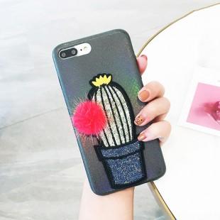 قاب ژله ای خزدار Cactus Case Apple iPhone 6 Plus