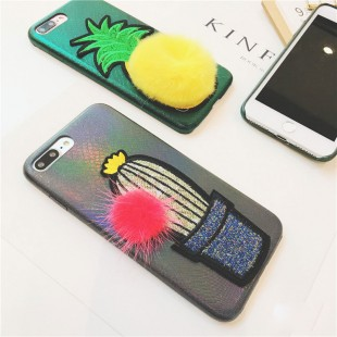 قاب ژله ای خزدار Cactus Case Apple iPhone 7 Plus