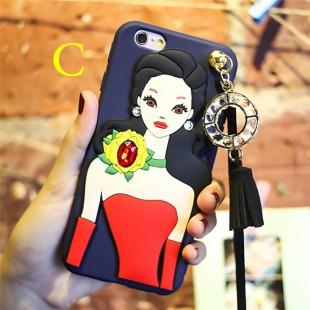 قاب ژله ای Hello Lady New Case Apple iPhone 7