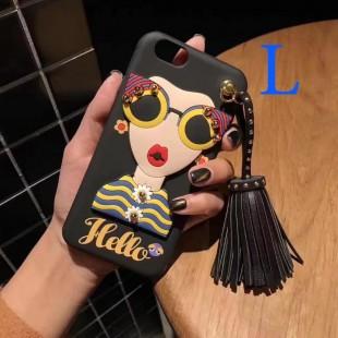قاب ژله ای Hello Lady Sun Glass Case Huawei Honor 4A