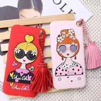 قاب ژله ای Hello Lady Sun Glass Case Samsung Galaxy A3 2017