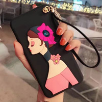 قاب ژله ای Hello Lady New Case Huawei P8 Lite 2017