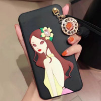 قاب ژله ای Hello Lady New Case Samsung Galaxy A5 2016