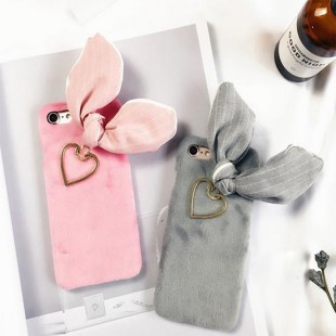 قاب کاغذی Love Fur Ear lovely Case Apple iPhone 6 Plus