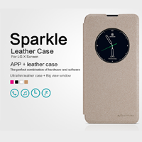 کاور چرم Nillkin SPARKLE Cover for LG X Screen