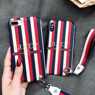 قاب چرمی طرح گوچی Gucci Leather Case iPhone Xs Max